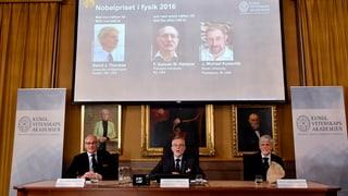 Premi Nobel da fisica va a trais Brits