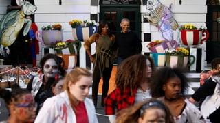 Obamas letzte Halloween-Party im Weissen Haus in zehn Bildern