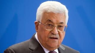 Trump empfängt Palästinenserpräsident Abbas