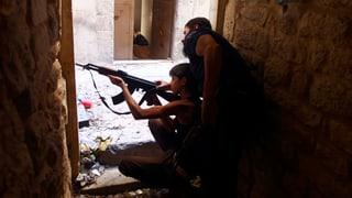 Der Bürgerkrieg in Syrien im Zeitraffer