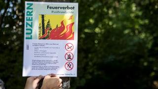 Immer mehr Kantone sprechen Feuerverbote aus
