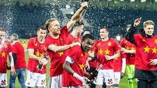 2:1 in Luzern – Basel ist Schweizer Meister