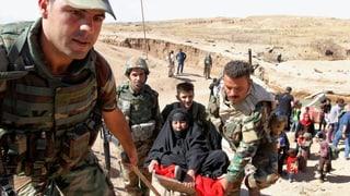 Die Sorge vor einem bewaffneten Konflikt wuchs bereits seit Tagen.