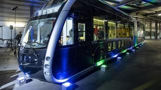 Ein futuristisches Gefährt für Schaffhausen