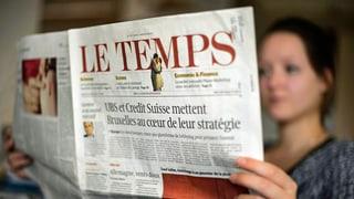 Ringier kauft Zeitung «Le Temps»