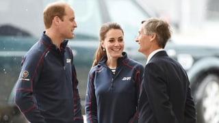Kate und William besuchen die «World Series» des «America's Cup»