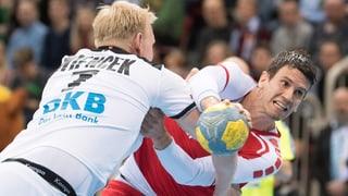 Schweizer Handballer mit Prestigeerfolg gegen Deutschland