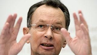 FDP-Präsident Philipp Müller sieht seine Partei auf Kurs