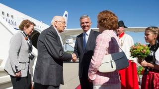 Bundesrat empfängt Italiens Präsidenten