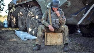 Waffen in der Ukraine ruhen offenbar
