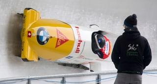 Wintersport: Schweizer vermasseln Olympia-Hauptprobe im Zweierbob