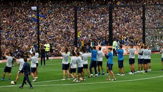 Buenos Aires im Copa-Fieber