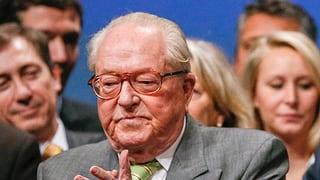 Jean-Marie Le Pen verzichtet auf eine Kandidatur