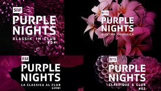 Tge è «Purple Nights»?