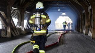 Brücke hat laut Polizei wegen «Raucherwaren» gebrannt