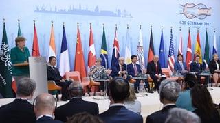 Der G20-Gipfel in Hamburg geht mit einem gemeinsamen Abschlussdokument zu Ende. Was nicht selbstverständlich ist. Warum nicht? Die Einschätzung.