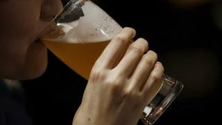 Zwei Bier auf leeren Magen = fahruntüchtig