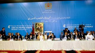 Syriens Opposition gegen ausländische Truppen