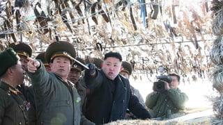 Kim Jong Un droht USA mit «Gegenmassnahmen»