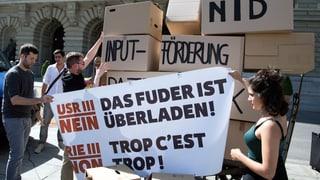Referendum gegen Unternehmenssteuerreform steht