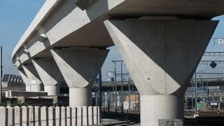 Neue Zürcher Eisenbahnbrücken kosten 17 Millionen Franken mehr