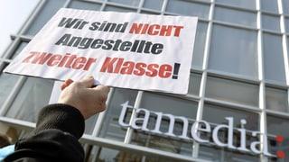 Zürcher Tamedia-Konzern mit weniger Gewinn und Ärger im Haus