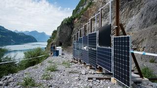 EKZ testen Walensee-Solaranlage in Davos