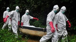 Schweiz will mehr Leute nach Liberia schicken