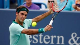 Federer startet in der Nacht auf Mittwoch