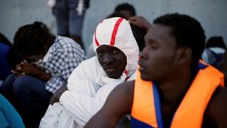 «Sichere Räume» für Flüchtlinge in Libyen geplant