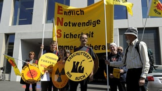 Streit um Ensi-Mahnwache in Brugg