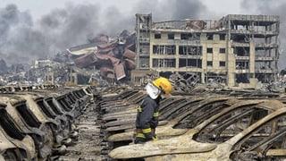 Neue Explosionen und giftige Dämpfe im chinesischen Tianjin