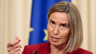 UE vul metter a disposiziun bastiments a la Libia