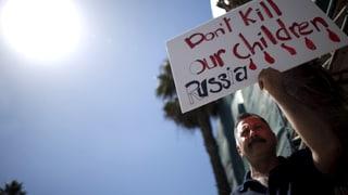 Syriens Opposition verurteilt Luftschläge