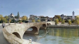 Aarauer stimmen dem Kettenbrücke-Ersatz zu