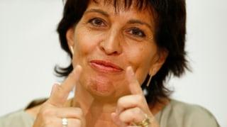 Leuthard: Infrastrukturbereich Italiens soll die Schweiz bezahlen