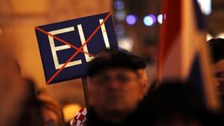 «Russland und Rechtsparteien wollen EU schwächen»