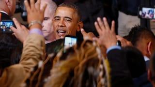 Barack Obama trifft sich mit Stammeshäuptlingen