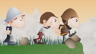 Video «Helveticus: La bataille des grosses pierres (8/26)» abspielen