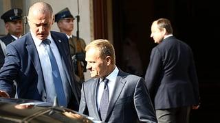 Tusk gegen Widerstand Polens als EU-Ratspräsident wiedergewählt