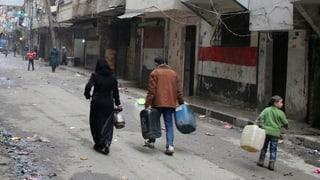 Syrisches Regime blockiert humanitäre Hilfe für Aleppo