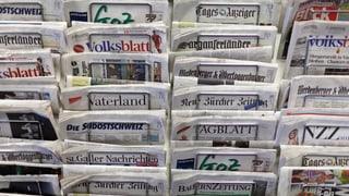 Vor allem Boulevard- und Gratiszeitungen büssen an Lesern ein