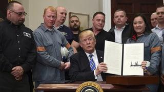 US-Strafzölle treten demnächst in Kraft – aber nicht für alle