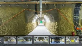 360°-Erlebnis Gotthard-Basistunnel