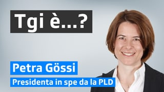 Petra Gössi: libertad ed atgna responsabladad
