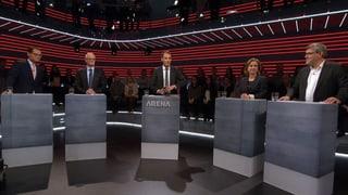 «Arena»: Das Verhältnis Schweiz-EU nach den Wahlen
