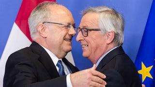 Jean-Claude Juncker macht sich rar