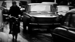 «Vor 50 Jahren»: Kampf gegen verstopfte Strassen
