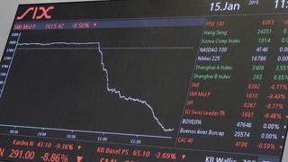 Zinssorgen lassen weltweit die Kurse fallen