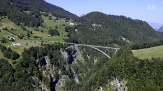 Spatenstich zum Bau der Taminabrücke erfolgt